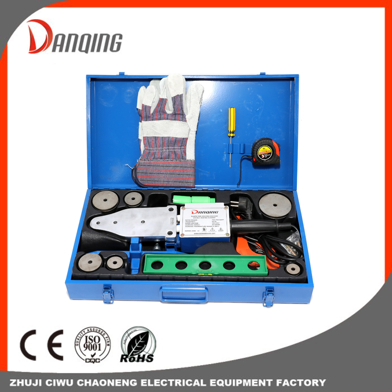 Double heating element Plastic pipe welding machine-20-63mm Ppr Pipe Fusion Welding Machine