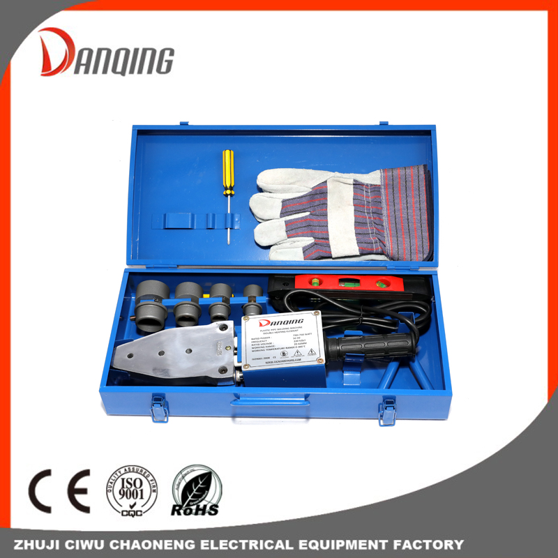 Double heating element Plastic pipe welding machine-1500w Plastic Pe Pipe Welding Device Machine