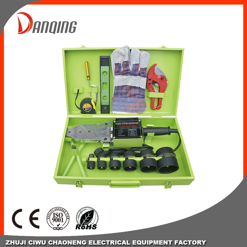 Double heating element Plastic pipe welding machine-Double Layer Coatings Welding Fusion Machine