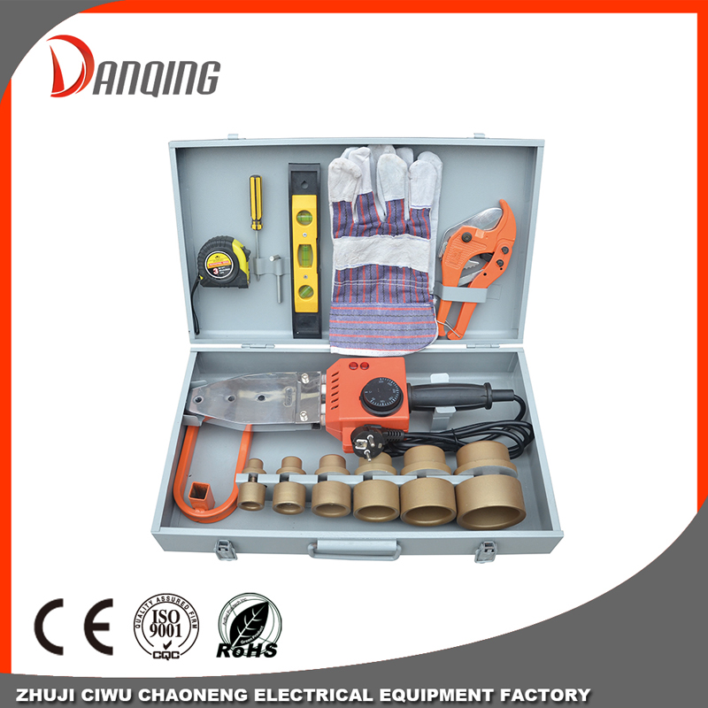 Double heating element Plastic pipe welding machine-20/63mm Plastic Ppr Pipe Welding Device Machine