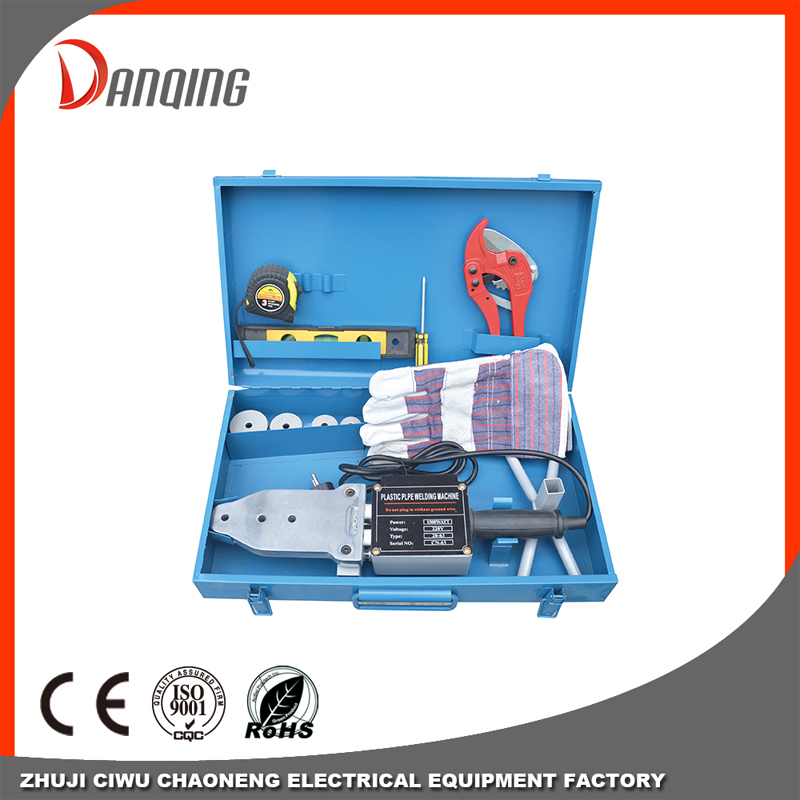 Plastic Heating Pipe Welding Fusion Machine