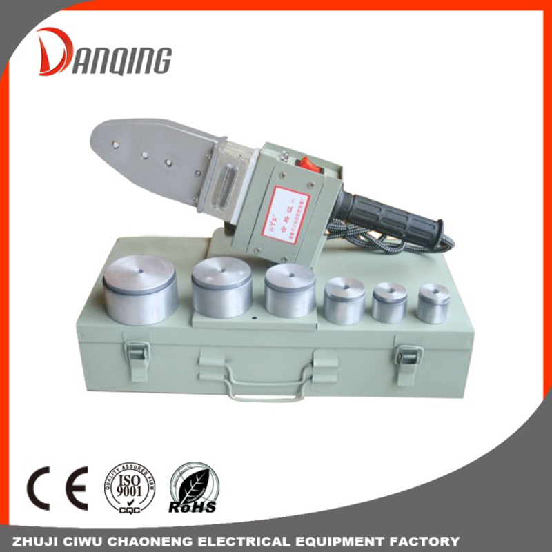 Electronic automatic thermostat Plastic pipe welding machine-20/63mm Ppr Pipe Fusion Heating Welding Machine