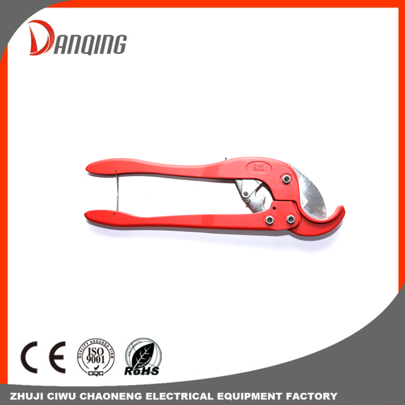 Hand Tools 63mm Pvc Plastic Pipe Scissor